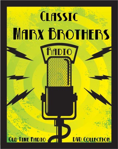 26 Classic The Marx Brothers Famous Comedians Old Time Radio Broadcasts on DVD (over 4 hours 12 minutes running time) - Famous Brothers Costumes
