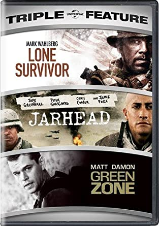 Amazon com: Lone Survivor / Jarhead / Green Zone Triple
