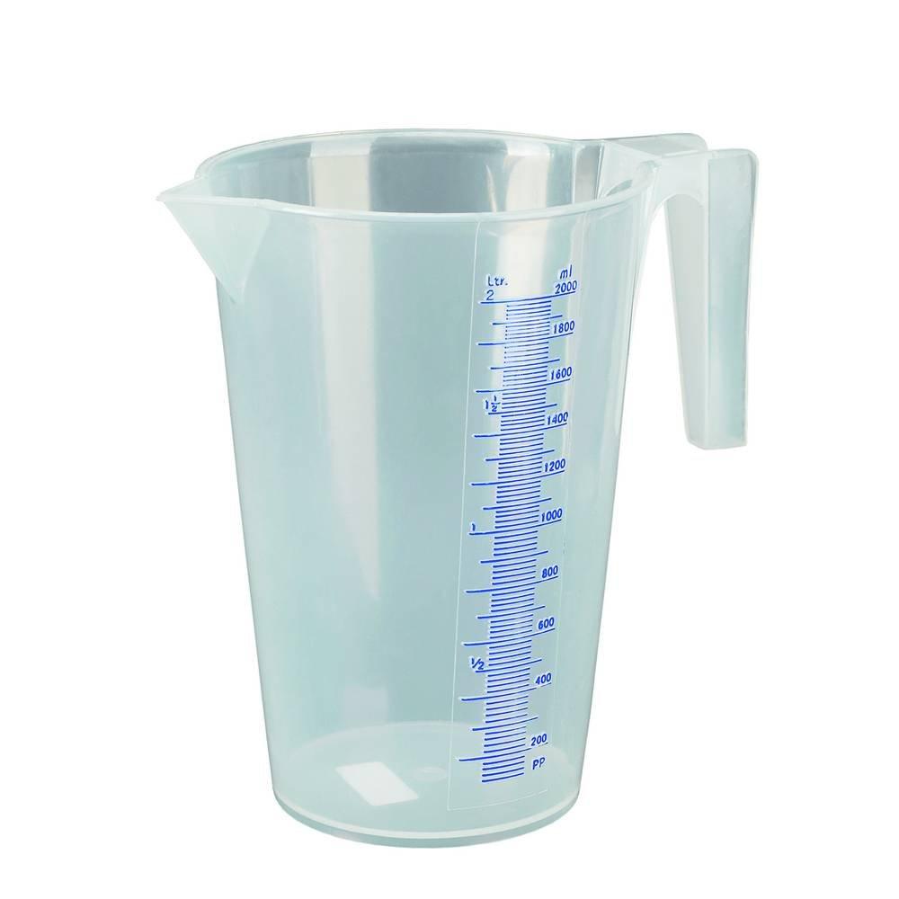 Carpoint 0655940 Pressol - Jarra graduada (polipropileno, 2 litros) product image