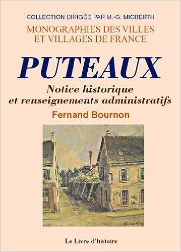 Livres Puteaux (Notice Historique et Renseignements Administratifs) epub, pdf