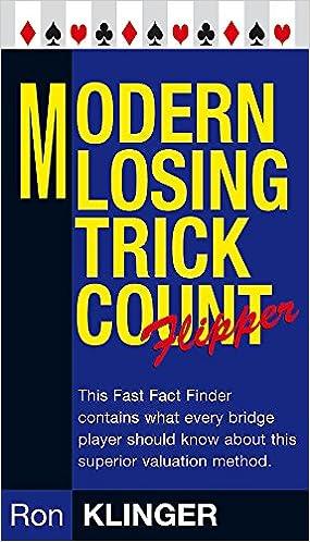 Modern Losing Trick Count Flipper Master Bridge Series Ron Klinger 9780297855576 Amazon Books