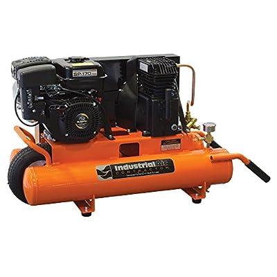 Industrial Air Contractor CTA5590856 8-Gallon Grade Belt Driven Wheelbarrow Air Compressor with Subaru Engine