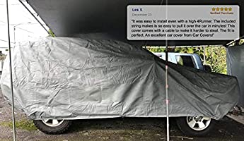 2018 TOYOTA C-HR WATERPROOF CAR COVER W//MIRROR POCKET GREY