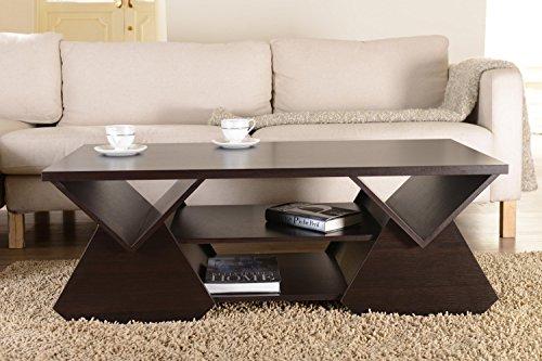Amazon.com: IoHOMES Chinua Modern Coffee Table, Espresso: Kitchen U0026 Dining