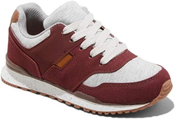 Boys Wheeler Jogger Sneakers, Burgundy