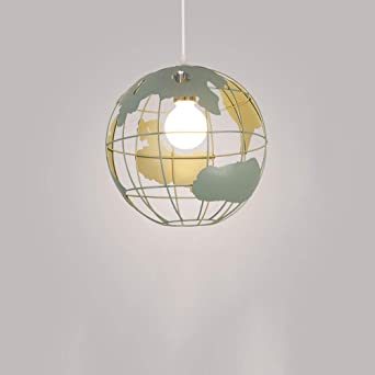 Utroligt Yuyuan Pendelleuchte Lampe Erde geformt Globus Deckenleuchte HS37