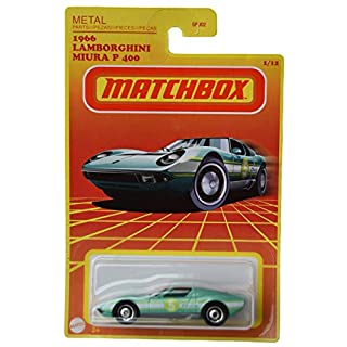 Matchbox 1966 Lamborghini Miura P 400 1/12