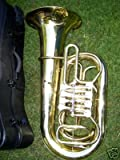 4 valve trumpet - Tuba with hard case and Mouthpiece, 4 rotary valve, BBb key