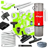 Allegro Central Vacuum Complete Air Package with Unit 3 Inlet Kit & 80 ft Pipe Review