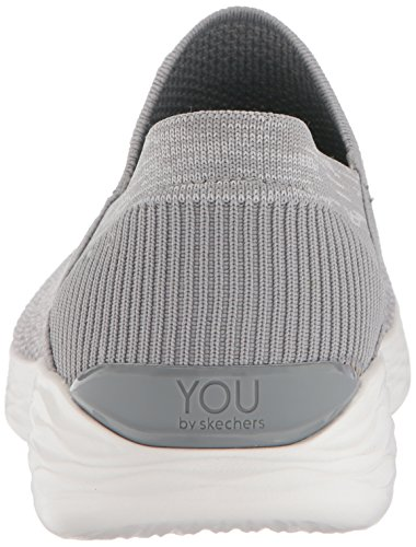 Skechers Damen You-Rise Slip On Sneaker Grau