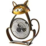 Deco Breeze DBF6166 Portable Collection Cat USB Fan