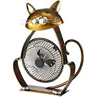 Deco Breeze DBF6166 Portable Collection Cat USB Fan
