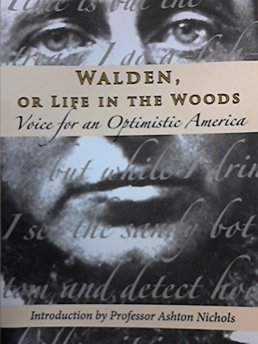 Walden or Life in the Woods : The Optimistic America Series