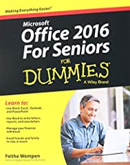 Keep up with the latest Office technologies, and learn the fundamentals of Microsoft Office 2016! Office 2016 For Seniors For Dummies is the ideal resource for learning the fundamentals of the Microsoft Office suite. You'll explore the functi...