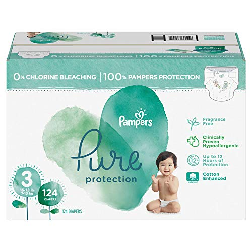 (an Item of Pure Protection Diapers Size 3-124 ct. (16-28 lbs.) - [Bulk Saving])