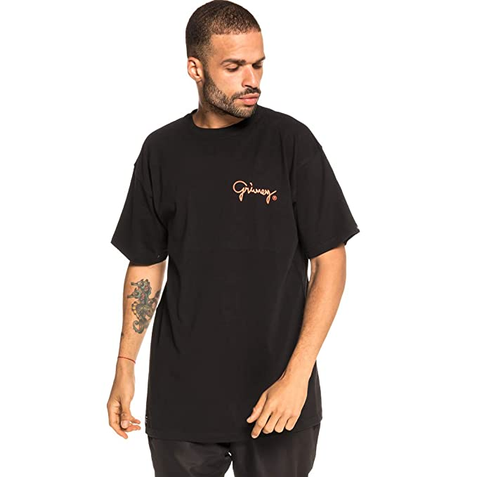 Grimey Camiseta Fallen tee FW18 Black-XS