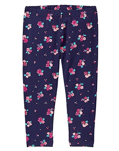 Ditsy Floral Leggings - Gymboree Toddler Girls' Ditsy Floral Print Legging, Ocean Trench, 3T