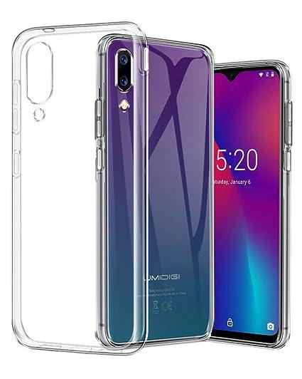 buy popular 78e03 340f3 TopACE Case for UMIDIGI One Max, UMIDIGI One Max Cover Ultra Thin  Transparent Soft Gel TPU Silicone Case for UMIDIGI One Max Smartphone  (Clear)
