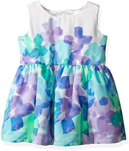 The Children's Place Baby-Girls' Sweet Li'l Big Flowers Dress