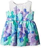 Kyпить The Children's Place Girls' Sweet Li'l Big Flowers Dress, Mellow Aqua, 12-18 Months на Amazon.com