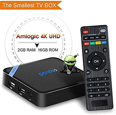 Android TV Box, 2019 actualizado más pequeño Android Box Amlogic ...