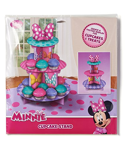 Minnie Mouse Bowtique Birthday Cupcake Stand Party Supplies