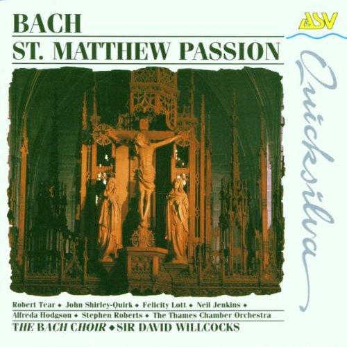St Matthew Passion Eng