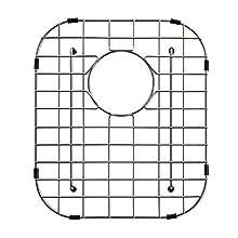 "KRAUS KBG-22 Stainless Steel Bottom Grid for KBU22 Double Bowl 32"" Kitchen Sink, 12 3/8"" x 14 1/2"" x 1 1/4"""