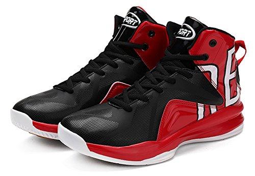 Jiye Prestazioni Allenamento Sportivo Scarpe Da Basket Da Uomo Moda Sneakers Rosso