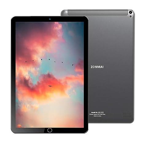 Tablet 10.1 Pulgadas, Android 7.0 Tablet PC (WiFi), Tableta Procesador Quad-Core, 3 GB de RAM 64 GB de ROM, Doble Cámara, 1280 × 800 IPS, Batería 8000 ...