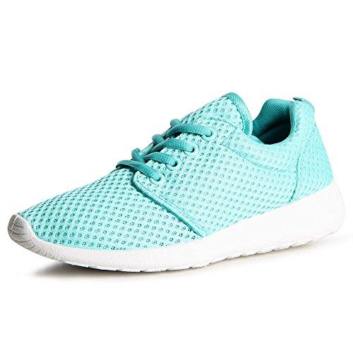 pretty nice e708f cbb9d Azzurro Donna Topschuhe24 Donna Sneaker Topschuhe24 Turchese