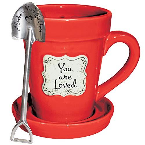 Red Flower Mug - 3