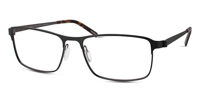 52c4b9de1ee ... Amazon com Eco Men s Kampala Matte Black 55mm Eyeglasses Size 55