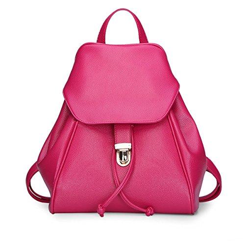 E-Girl - Bolso mochila de Material Sintético para mujer One Size Rose