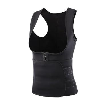 70053a455e Romacci Woman Body Shapers Slim Vest Tummy Training Corset Underbust  Control Shapewear Tank Top Black