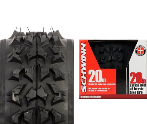 Schwinn Big Knobby Bike Tire (Black, 20 x 1.95-Inch) by Schwinn