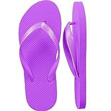 Women's Purple Flip Flops Assorted Sizes - Wholesale Lot 24 Pairs