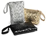 Handbag Organizer Bag Set Of 3 For Travel, Toiletries, Cosmetics, Cables, Gadgets (Bling)