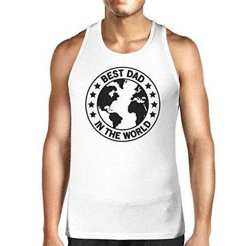 Manche Printing Pull 365 Best World Sans Taille Dad Unique White Homme pqCWwd
