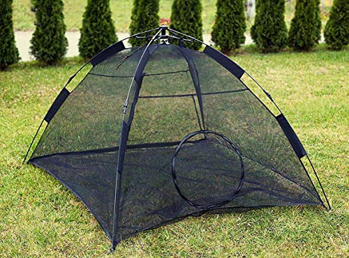 Kenley Cat Outdoor Playpen Tent - Instant Pop-Up Pet Enclosure - Safe Indoor Play House for Cats -...