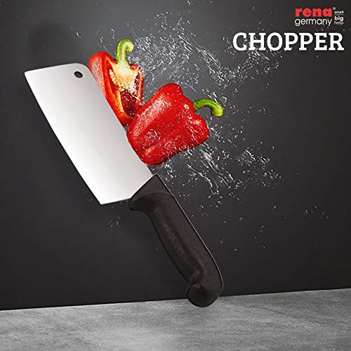 Amazon.com: RENA germany-knife chopper- cuchillo Cleaver ...