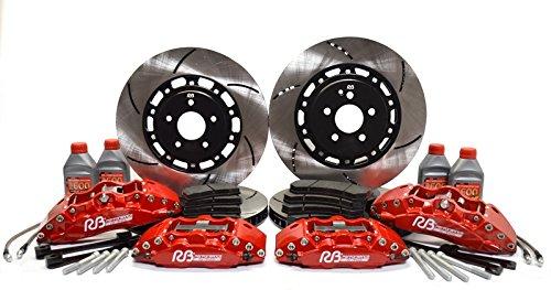 RacingBrake 390mm BBK 6 & 4 Pot Big Brake Kit for Porsche 996 & 997.1 (NON TURBO)