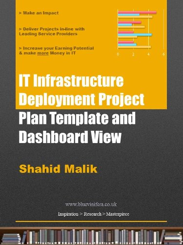 Template Plan Project - IT Infrastructure Deployment Project Plan Template and Dashboard