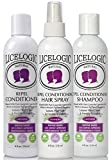 LiceLogic Natural Lice Prevention Kit - 3 Product Super Lice Repel Kit Includes Shampoo, Conditioner, and Lice Repellent Spray (Lavender)