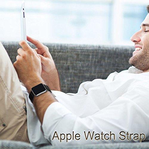 Mydeal 24mm correa de reloj de apple milanese reloj for Especificaciones iwatch