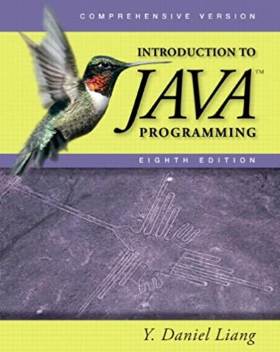 introduction to java programming comprehensive 8th edition y rh amazon com introduction to java programming 10th edition solutions manual introduction to java programming 10th edition solutions manual