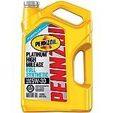 Pennzoil 550045195 Platinum 5 quart 5W-30 High Mileage Motor Oil