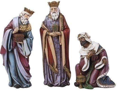 Joseph Studio The Three Kings for Nativity Christmas Figurine Set of 3