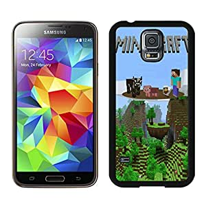Beautiful And Antiskid Designed With Minecraft Game Cell Phone Unique Case for Samsung Galaxy S5 I9600 G900a G900v G900p G900t G900w IN Black 053