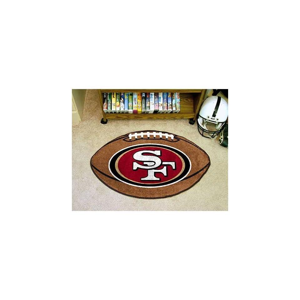 NFL San Francisco 49ers 22x35 Football Mat